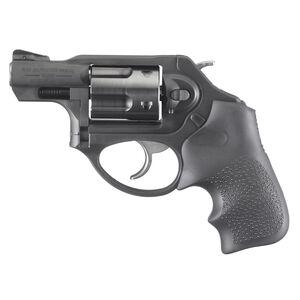 """Ruger LCRx 9mm Luger Revolver 1.87"""" Barrel Fixed Sights Hogue Tamer Monogrip Matte Black Finish"""