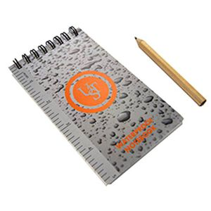 """Ultimate Survival Technologies Stormproof Notebook 3""""x5"""" with Pencil 20-310-116"""