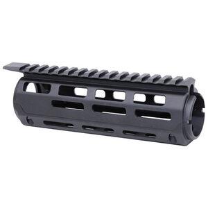 "Guntec AR-15 7"" Aluminum Carbine Length Drop In M-LOK Handguard With Monolithic Top Rail Aluminum Anodized Black"