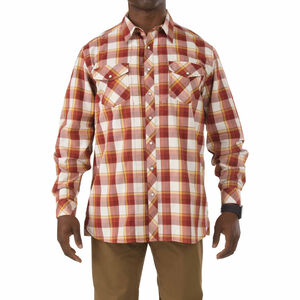 5.11 Tactical Flannel Shirt Long Sleeve Cotton Twill Small Regatta 72404709S