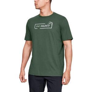 Under Armour Men's Hunt Logo T-Shirt Cotton Blend