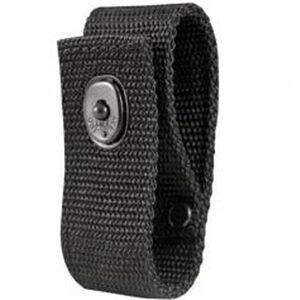 Boston Leather 5519-5 Handcuff Strap Black Snap Ballistic Weave Synthetic Black 5519-5