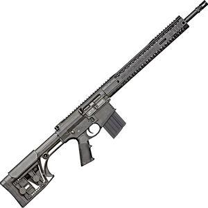 "Black Rain BRO Fallout10 - Standard Issue .308 Win AR-308 Semi Auto Rifle 18"" Barrel 10 Rounds M-LOK Hybrid Handguard Luth-AR MBA1 Rifle Stock Black"