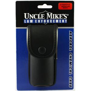 Uncle Mike's Law Enforcement MKIII Aerosol Chemical Agent OC Case Nylon Polymer Insert Plain Black 7477-1