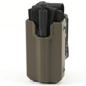 Eleven 10 RIGID TQ Case for SOFTT/SOFTT-W Slick Front Polymer TekLok Plain Finish Ranger Green