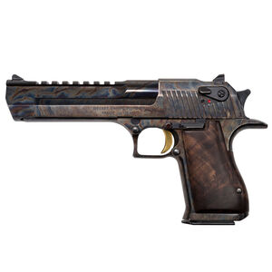 "Magnum Research Desert Eagle Mark XIX Semi Auto Pistol .44 Remington Magnum 6"" Barrel 8 Rounds Fixed Combat Sights Weaver Accessory Rail Case Hardened Finish"
