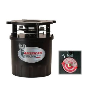 American Hunter R-Pro Feeder Kit with Analog Clock Timer and Varmint Guard Black 30590