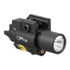 Sun Optics Compact Green Laser Light Combo 250 Lumens LED 3 Way Switch CR123A Black CLF-CSG