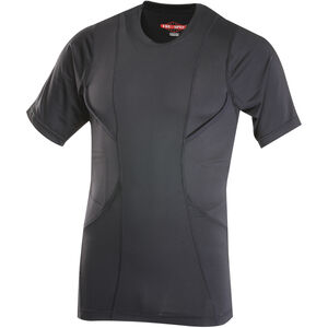 Tru-Spec 24-7 Series Concealed Holster Shirt Short Sleeve Men's Size Large Polyester/Spandex Black 1226005