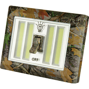 River's Edge Products Mount Anywhere LED Night Light with Switch 300-330 Lumens 3x AAA Batteries Camo