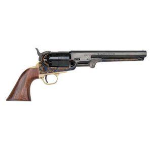 "Traditions 1851 Navy Black Powder Revolver .44 Caliber 7.375"" Blued Octagonal Barrel Steel Color-Case Hardened Frame, Brass Guard, and Walnut Grip FR18511"