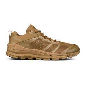 Under Armour UA Verge Low Hiking Shoe Men's Size 9 Regular Coyote Brown