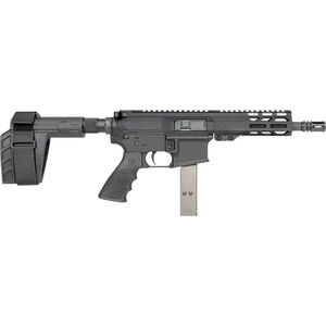 "Rock River LAR-9 9mm Luger AR-15 Semi Auto Pistol 7"" Barrel 32 Rounds Uses Colt Style SMG Mags RRA M-LOK Free Float Handguard SB-Tactical Pistol Brace Black"