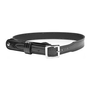 Gould and Goodrich H99 Shoulder Strap Size 46 Brass Buckle Leather Hi-Gloss Black H99-46CLBR