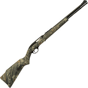 "Marlin Model 60C Semi Auto Rimfire Rifle .22 LR 19"" Barrel 14 Rounds Realtree Hardwoods Camo Synthetic Stock Blued Finish"