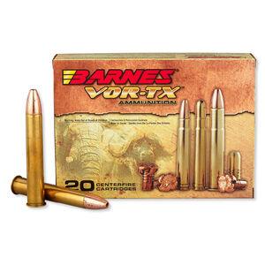 Barnes VOR-TX Safari .500 Nitro Express Ammunition 20 Rounds 570 Grain FB HP Lead Free 2100 fps