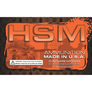HSM 7mm Mauser Ammunition 20 Rounds Sierra Gameking SBT 140 Grains HSM-7Mauser-4-N