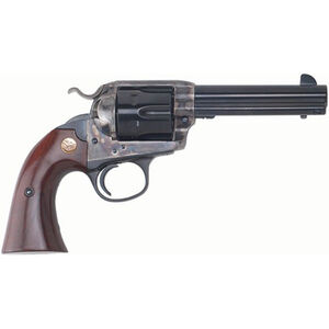 "Cimarron Firearms Bisley 1896 Special Target .44-40 Win Single Action Revolver 6 Rounds 4.75"" Barrel Walnut Grips Color Case Hardened/Blued Finish"