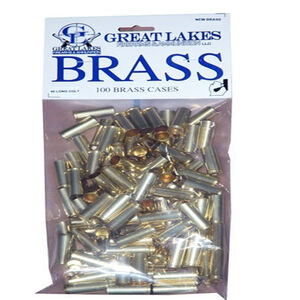 Great Lakes Firearms and Ammunition .45 Long Colt New Unprimed Brass 100 Pack B687573
