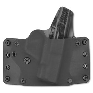 Blackpoint Tactical Leather Wing Belt Holster S&W Shield Right Hand Kydex/Leather Black 100185