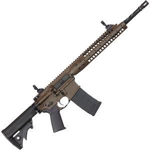 "LWRC IC-A5 Individual Carbine AR-15 Semi Auto Rifle 5.56 NATO 16"" Barrel 30 Rounds Gas Piston Patriot Brown"