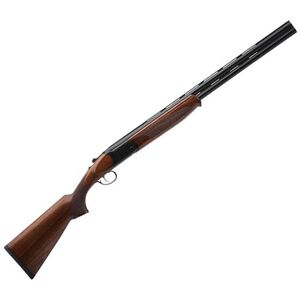 "Savage Stevens 555 Compact Over/Under Shotgun 20 Gauge 24"" Barrels 2 Rounds Walnut Stock Matte Black"