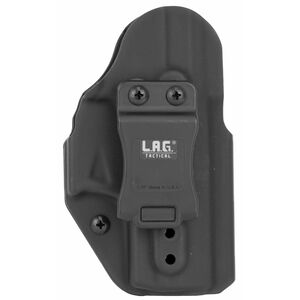 LAG Tactical Liberator MK II Series OWB/IWB Holster for Walther CCP M2 Models Ambidextrous Draw Kydex Construction Matte Black Finish