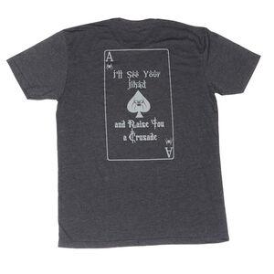 Spike's Tactical Spike's Spade Men's Short Sleeve T-Shirt XL Charcoal
