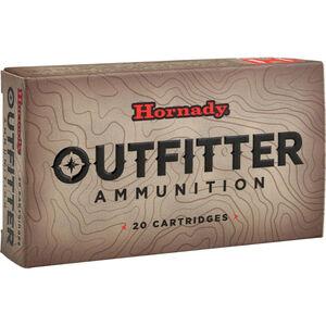 Hornady Outfitter 7mm WSM Ammunition 20 Rounds GMX 150 Grains
