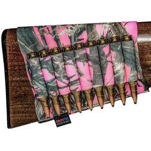 GrovTec Rifle Buttstock Ammunition Holder TrueTimber Pink Camo