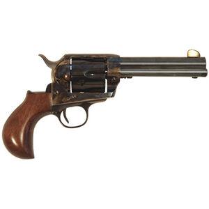 "Cimarron Thunderball 1873 Revolver 45 LC 3.5"" Barrel 6 Rounds Walnut Grips Case Hardened/Blued"