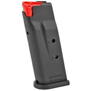 Naroh Arms Naroh N1 7 Round Magazine 9mm Luger Polymer Flat Base Plate Steel Body Matte Black