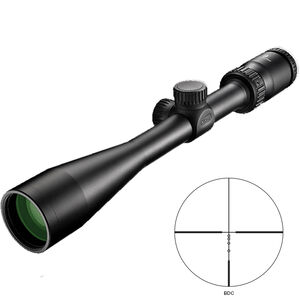 "Nikon Prostaff P3 4-12x40 Riflescope Non-Illuminated BDC Reticle 1"" Tube .25 MOA Fixed Parallax Matte Black"