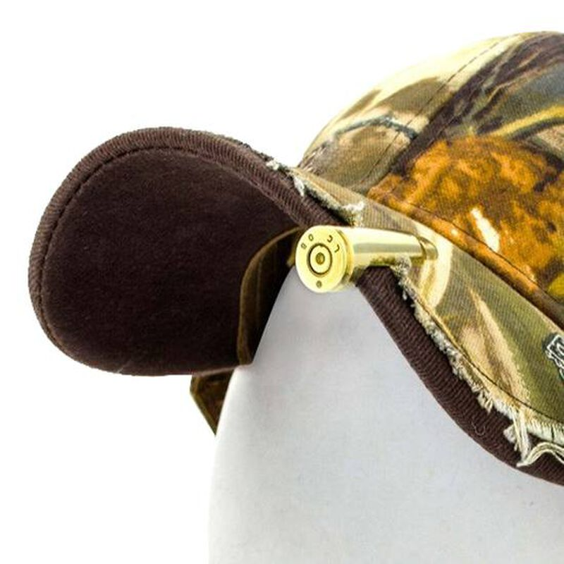 2 Monkey Trading Lucky Shot USA Bullet Hat Clip Once Fired .308/7.62 NATO Brass Casing HC-DC