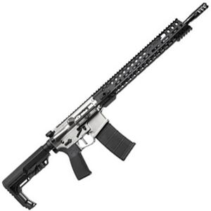 "POF Renegade Plus AR-15 Semi Automatic Rifle 5.56 NATO 16.5"" Barrel 30 Rounds M-LOK Black/NP3 Coated Finish"