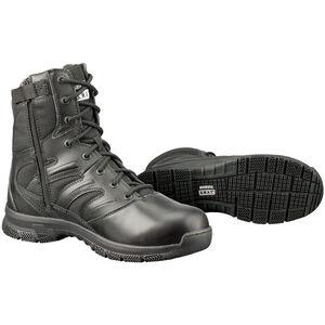 """S.W.A.T. Force 8"""" SZ Men's Boot 9 Reg Leather/Nylon Blk"""