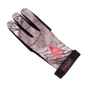 Allen Cases Ambidextrous Traditional Archery Glove Small Realtree Xtra