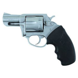 """Charter Arms Police Undercover Revolver .38 Special +P 2.2"""" Barrel Rubber Grips Stainless Steel Finish"""