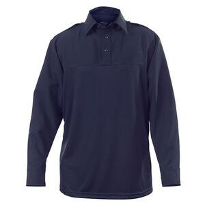 """Elbeco UV1 Undervest Men's Long Sleeve Shirt Neck 17.5 Sleeve 37"""" Regular Polyester Wool Midnight Navy"""