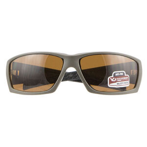 Pyramex Overwatch Eye Protection Bronze H2X Anti-Fog Lens with OD Green Frame