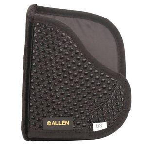 Allen Baseline Pocket Holster Medium Autos Ambidextrous Wallet Profile Black 44203