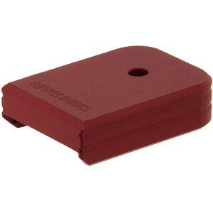 UTG PRO +0 Base Pad, Glock Large Frame, Matte Red Aluminum