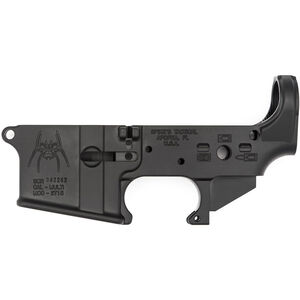 Spike's Tactical Spider AR-15 Lower Receiver .223 Rem/5.56 NATO Stripped Black STLS019