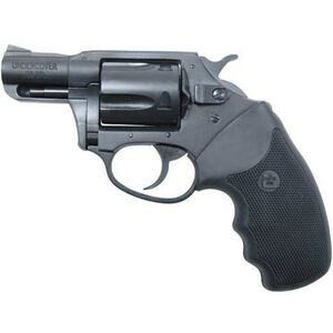 """Charter Arms Undercover Revolver .38 Special +P 2"""" Barrel 5 Rounds Fixed Sights Rubber Grips Blue Finish 13820"""