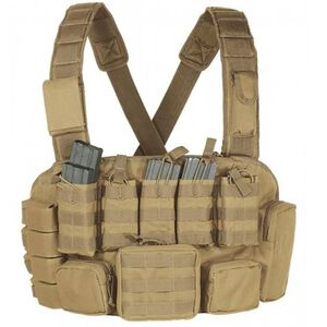 Voodoo Tactical MOLLE Tactical Chest Rig Nylon Coyote Tan 20-993107000
