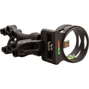 TRUGLO Carbon XS Xtreme 5-Pin Ambidextrous Micro Adjustable Black