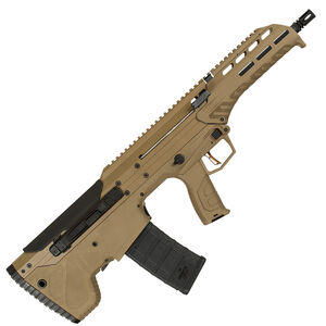 "Desert Tech MDR .223 Wylde Semi Auto Rifle 16"" Barrel 30 Round Magazine Ambidextrous Design Bull Pup Rifle Synthetic Stock Flat Dark Earth"