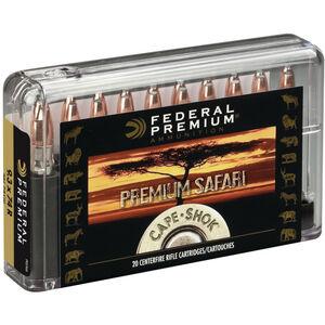 Federal .470 Nitro Express Ammunition 20 Rounds 500 Grain Swift A-Frame 2150fps