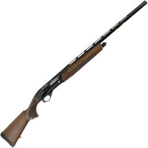 "Dickinson Impala Plus Semi Auto Shotgun 12 Gauge 28"" Barrel 3"" Chamber 4 Rounds Wood Stock Black Finish"