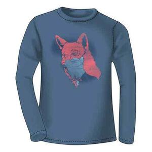 Realtree Women's Sly Fox Long Sleeve T Shirt 2XL Cotton Indigo